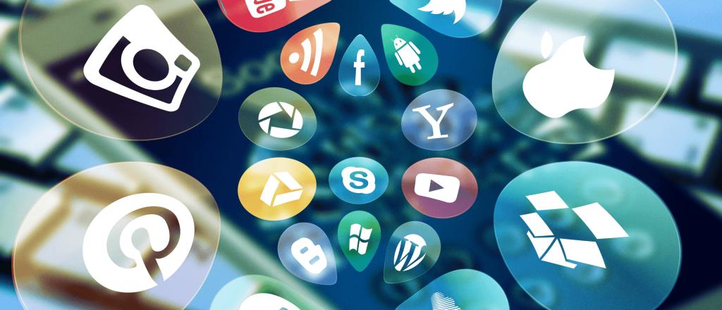 Header image for social media management tools article.